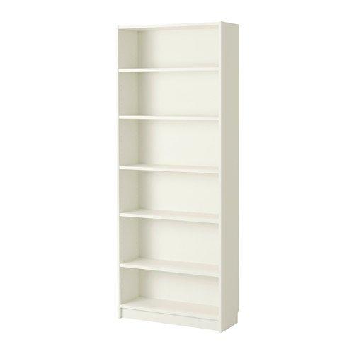 Ikea Ripiani regolabili di alta qualità 80x 28x 202cm libreria BILLY bianco