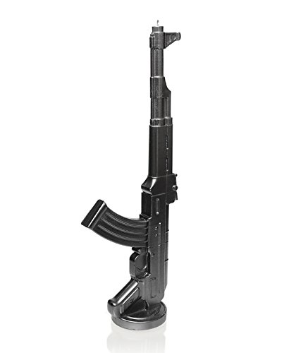 Candellana Candles 5902650678408 AK-47 Candellana- AK-47 Candle-Steel,Steel,Large by Candellana Candles