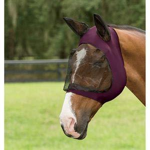(Weatherbeeta Roma Stretch Eye Saver with Ears Purple/Black Full)