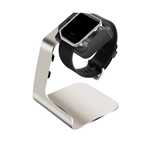Tranesca Charging Dock/Charging Stand/Charger Compatible with Fitbit Blaze (with Built-in 6ft Charging Cable)