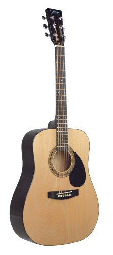 Johnson JG-610-N-1/2 610 Player Series 1/2 Size Acoustic Guitar, Natural JG-610-N-œ