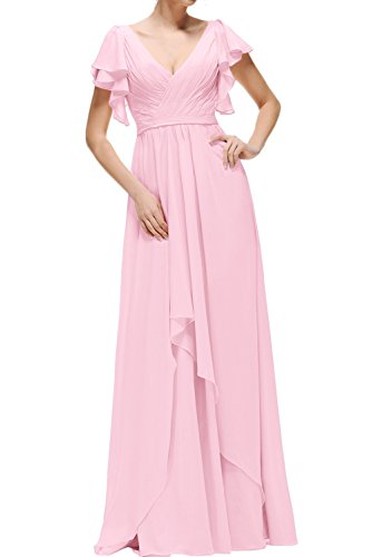 Topkleider - Vestido - trapecio - para mujer Rosa 38