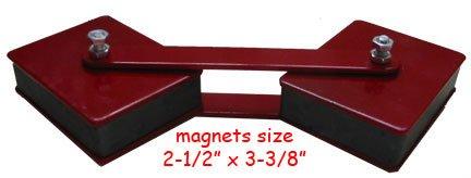 2 Adjustable Swivel Welder Welding Angle Magnet 50lb