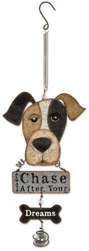 Sunset Vista Designs Dog Bouncy Hanging Decoration with Sign by Sunset Vista Designs