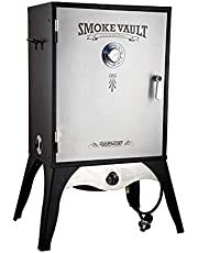 """Camp Chef Smoker 24"""" Smoke Vault Extra Large with Stainless Door and Adjustable Shelves (SMV24)"""
