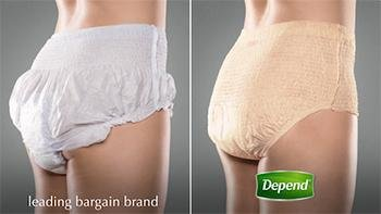 Depend For Women Underwear S/M 80 Count 【大人用おむつ女性用】【パンツタイプ】パンツ しっかりガード長時間 ◆S-M (アメリカサイズ)80枚 《並行輸入》   B00O3LRQO0