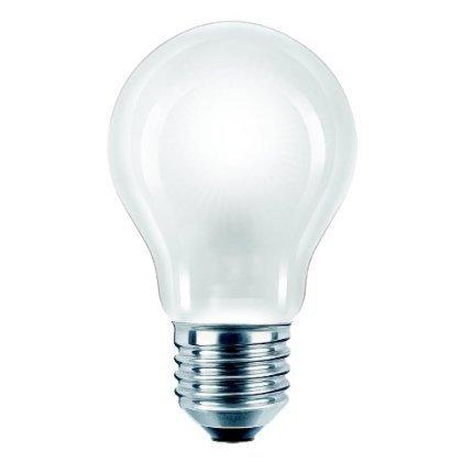 Gls Bulb - 10 X 60 WATT EDISON SCREW E27 PEARL LIGHT BULBS GLS LAMP by SEL