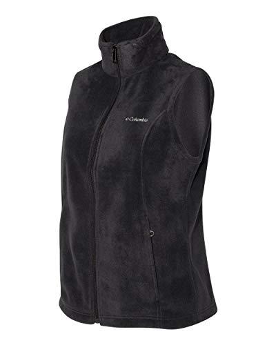 Columbia Women's Benton Springs Vest, Black/Geyser, X-Small ()