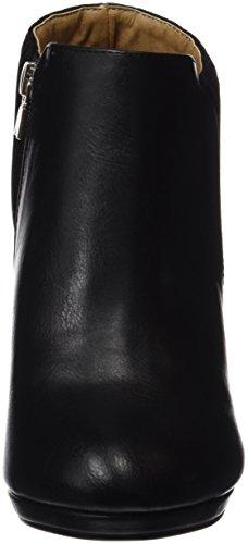 MTNG Originals 61301, Zapatos de Tacón con Punta Cerrada para Mujer Negro (NAPAL NEGRO / PEACH NEGRO)