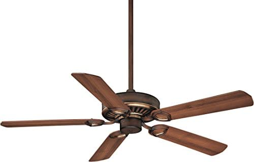 Minka-Aire F588-SP-BCW, Ultra-Max Belcaro Walnut 54 inch Ceiling Fan with Wall Remote Control