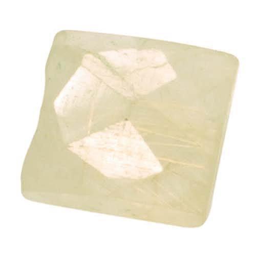 Golden Rutilated Quartz Faceted Rectangle Gemstone Beads 9-16mm (10) (Faceted Beads Quartz Rectangle)