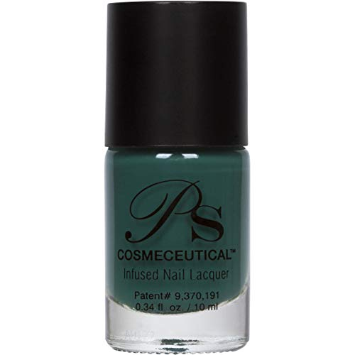 PS Polish All Natural Nail Polish, Fall Collection Non-Toxic Professional Grade Nail Art and Polish Nail Lacquer, Beige Nail Polishes for Manicure, Pedicure, Hands - MSRP $14.99 (Emerald)