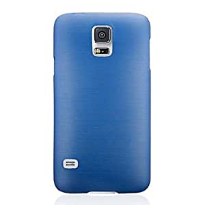 SHOUJIKE Silk Touch PVC Protection Case for Samsung Galaxy S5 i9600 (Assorted Colors) , Blue
