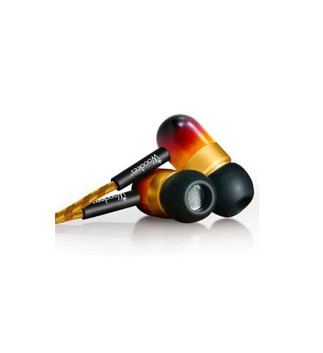 (Southern Audio Services IESW101V Vintage Woodees Stereo Earphones (WOO-IESW101V))