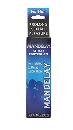 Mandelay Climax Control Gel, Maximum Strength, 1 oz - 2pc by Multiple