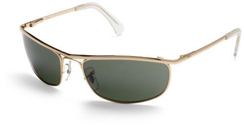 - Ray-Ban RB3119 Olympian Sunglasses Arista/Crystal Green 59mm