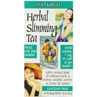 - 21st Century Slimming Tea, Natural, 24 Count (Pack of 3)