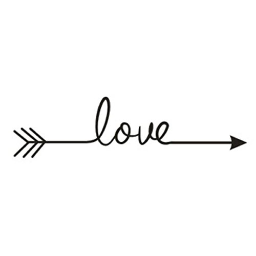 Wall Sticker,Saingace Home Decor Love Arrow Decal Living Room Bedroom Vinyl Carving Wall Decal Sticker