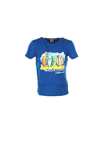 T-shirt Uomo Whoopie Loopie XL Azzurro Wm17s17tg Primavera Estate 2017