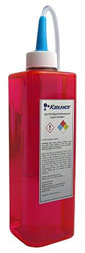Price comparison product image Koolance 702 Liquid Coolant, High-Performance, UV Red, 700ml (24 fl oz)