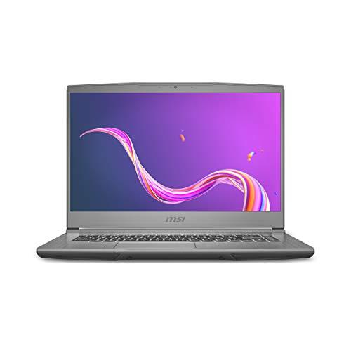 MSI Creator 15M, Intel i7-10750H, 15.6″ FHD IPS-Level 144Hz 72%NTSC Thin Bezel, close to 100%sRGB Panel Laptop (16GB/512GB NVMe SSD/Windows 10 Home/Nvidia GTX 1660Ti Max-Q/Silver/1.86Kg), A10SD-1041IN