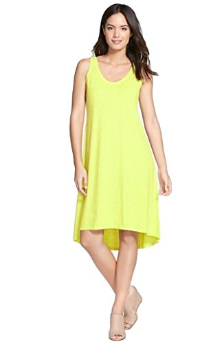 Eileen-Fisher-Womens-Cotton-Hemp-Twist-Scoopneck-Tank-Dress-Honeydew