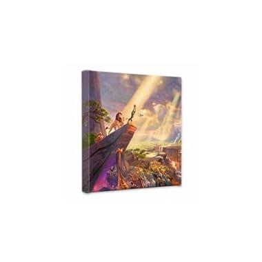 Thomas Kinkade 14x14 Gallery Wrapped Canvas Lion King