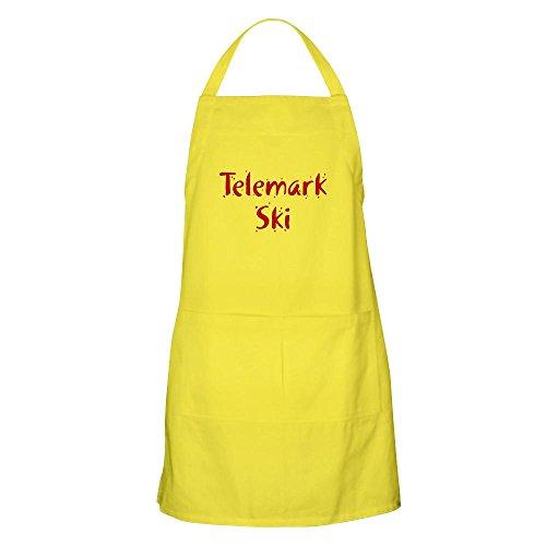 CafePress - Telemark Ski BBQ Apron - Kitchen Apron with Pockets, Grilling Apron, Baking Apron