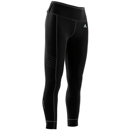 Adidas Women's Running Sequentials Climaheat Long Tight (Black/Small)