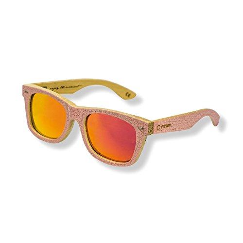 Rosse Lentes Melon orange sunglasses arancioni Gafas Espejo Glasses sunglasses Pink Sol Red Mirrored gafas Elwood De fwqngxUXq0