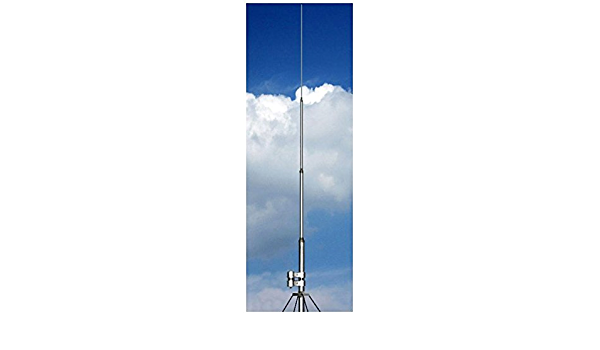 Antena Vertical Ground Plane Banda 20 M 14 MHz, Altura 5,6 m ...