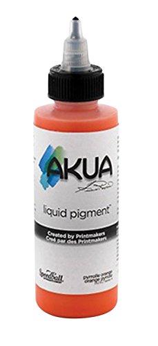 Akua Kolor Water Soluble Monotype Ink, 4 oz, Pyrrole Orange ()