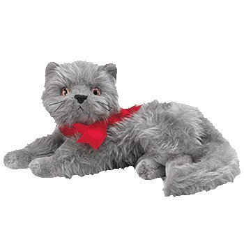 603a09ed60b Image Unavailable. Image not available for. Color  Ty Beanie Babies - Beani  the Gray Cat