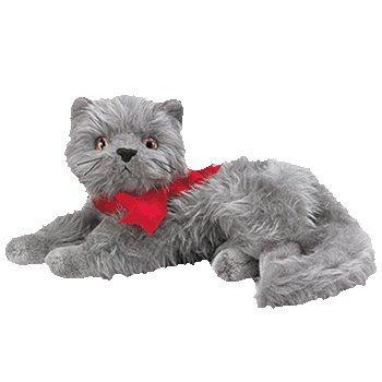 Ty Beanie Babies - Beani the Gray Cat (Gray Cat Plush)