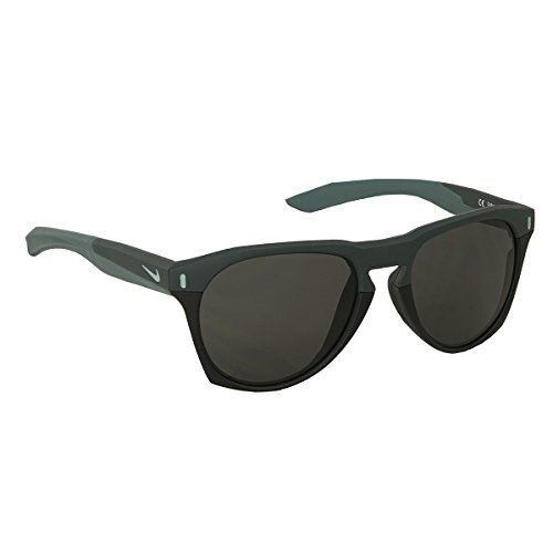 Nike EV1021-330 Essential Navigator Sunglasses (Frame Dark Grey Lens), Matte ()