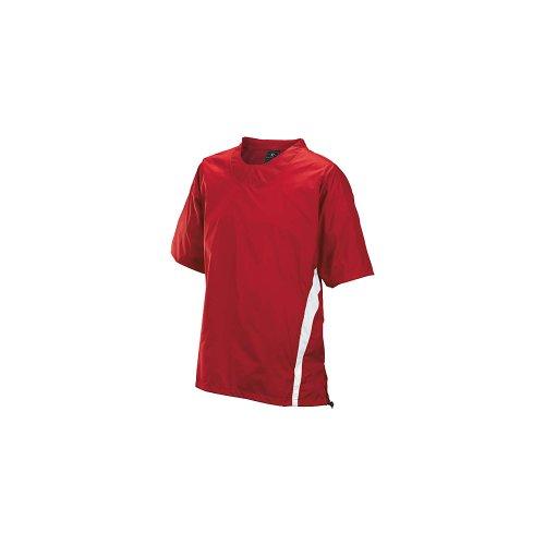 Easton Enforcer Baseball Short Sleeve Batting Jacket Red S