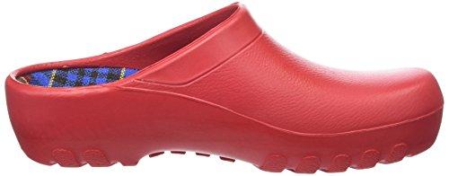 Rouge Fashion de Clog Femme Chaussures Jolly Gymnastique x0q6wPYf