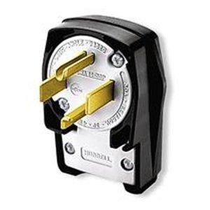 Nema 14 30 >> Hubbell Hbl9432c Ac Plug Nema 14 30 Male Angled Electric