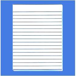 Lined Paper For Writing Free Printable Kids Template Word A4 Foolscap