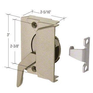 CRL Right Hand Coppertone Casement Window Lock; 2-3/8