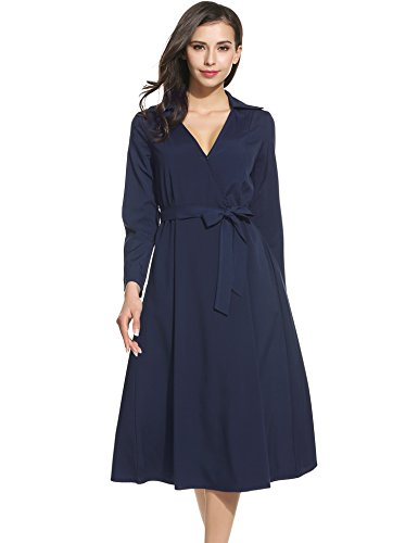 ANGVNS Womens Sleeve Vintage Casual
