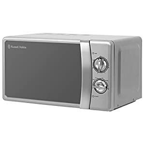 Russell Hobbs RHMM701S Compact Manual Microwave, Silver