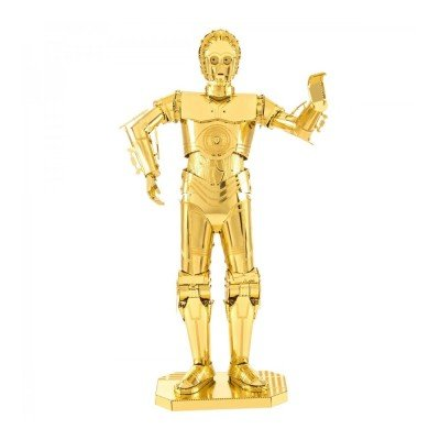 (Fascinations Metal Earth Star Wars C-3PO 3D Metal Model Kit)