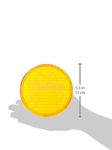 Vision X Lighting 9157900 Cannon Yellow 4.72 Polycarbonate Flood Light Cover