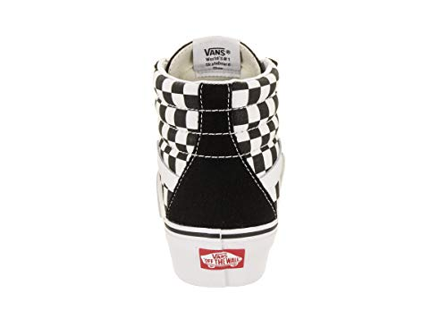 True 2 Vans 0 Sk8 Platform Checkerboard White Black hi 1xwaSq7
