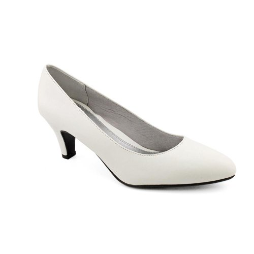 Life Stride Womens Sable Pump,White Victory,US 8.5 M (Victory Heels)