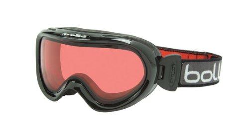 Bolle Boost OTG Goggles (Black Basics, Vermillion Lens), Outdoor Stuffs