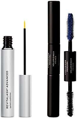 RevitaLash Cosmetics, RevitaLash Advanced 3.5mL Eyelash Serum + Free Gift (Double-Ended Volume Set 5mL)