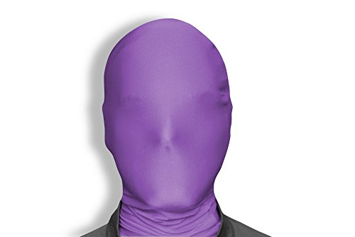 Morphsuits Morphmask Original, Purple, One Size (Purple Morphsuit)