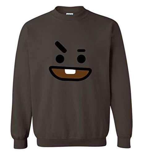 The Incredible BTS Shooky Face BT21 Halloween Costume Hoodies Sweatshirts Koya RJ Mang Chimmy Tata Cooky